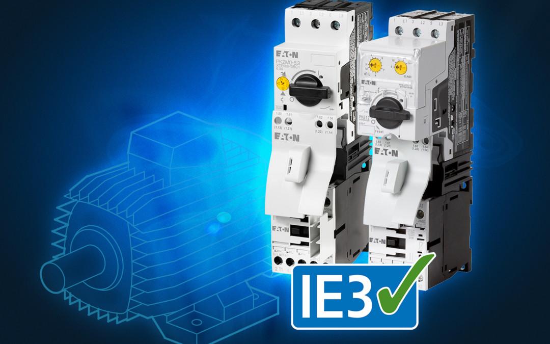 Zaščita IE3 elektromotorjev
