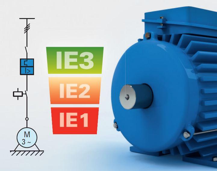 Zamenjava motorja IE3